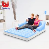 Modern extra large home furniture mattress, 2 people accomodate chairs multifunction 5 in 1 sofa beds