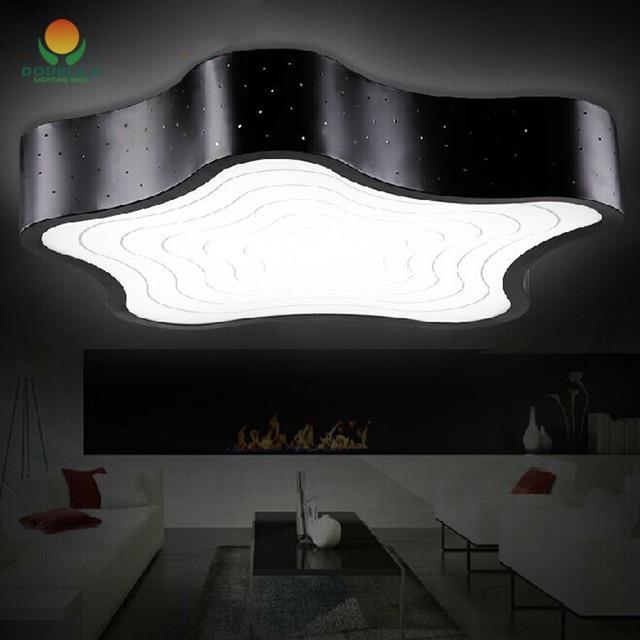 estrella de mar forma de la lmpara de techo para nios habitacin moderna iluminacin interior llev