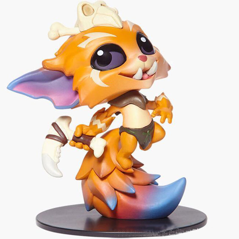 LOL League of Legends Model The Missing LINK Gnar Game Action Figure Collection Gift Doll 10CM No Box