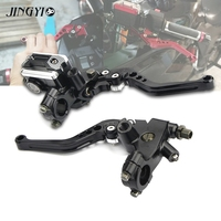 CNC Motorcycle Hydraulic Clutch Brake Lever Master Cylinder For vespa gts adelin bmw s1000r gn125 suzuki bandit 600