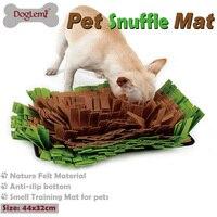 Doglemi Pet Snuffle Mat Nosework Blanket Dog Training Mats Dog Feeding Mat Yummy Mat Toy Nose
