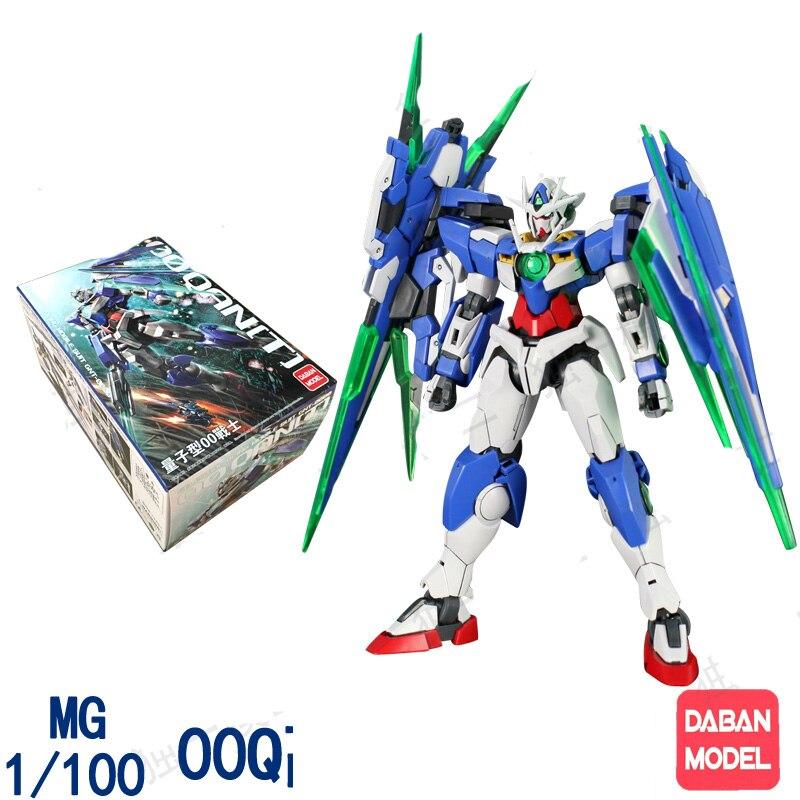 Daban Japanese Master Grade Gundam MG 1:100 00Q GN SWORD IV robot action figure plastic model kits toys cmt daban 1 100 mg gundam mb ver detail strike freedom fighter robot model kit action figure