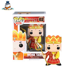 QuanPaPa Genuine Original FunKo POP Monkey King Monk Tang 02 Model font b Action b