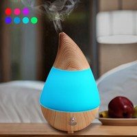 7Colors Changing LED Lights USB Charge Bluetooth Speaker 125ml Aroma Essential Oil Diffuser Ultrasonic Air Humidifier