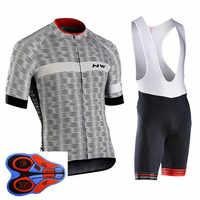 NW 2019 été Maillot de cyclisme à manches courtes ensemble vélo vélo vêtements ropa Ciclismo uniformes vélo vêtements Maillot cuissard #7