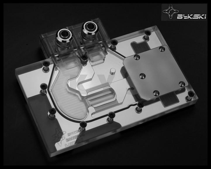 Bykski A-AS290-X for ASUS R9 290XDC2 R9 290DC2 R9 390XDC2 VGA Water Cooling Block a as39x x 390 strix r9 390x full coverage water cooled head water jacket