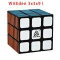 ¡ Nuevo! WitEden 3x3x9 Y 3x3x9 II Negro/Blanco Magia cubo Negro 3*3*9 Cubo Del Rompecabezas Juguetes Para Niños Juguetes Educativos 339