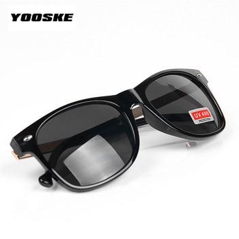 YOOSKE Vintage Men's Women's Sunglasses Male Female Sun Glasses Fashion Feminine Masculine Goggle 3