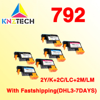 2set Fastship Compatible For Hp792 Print Head Designjet L26500 L28500 CN702A CN703A CN704A Printers