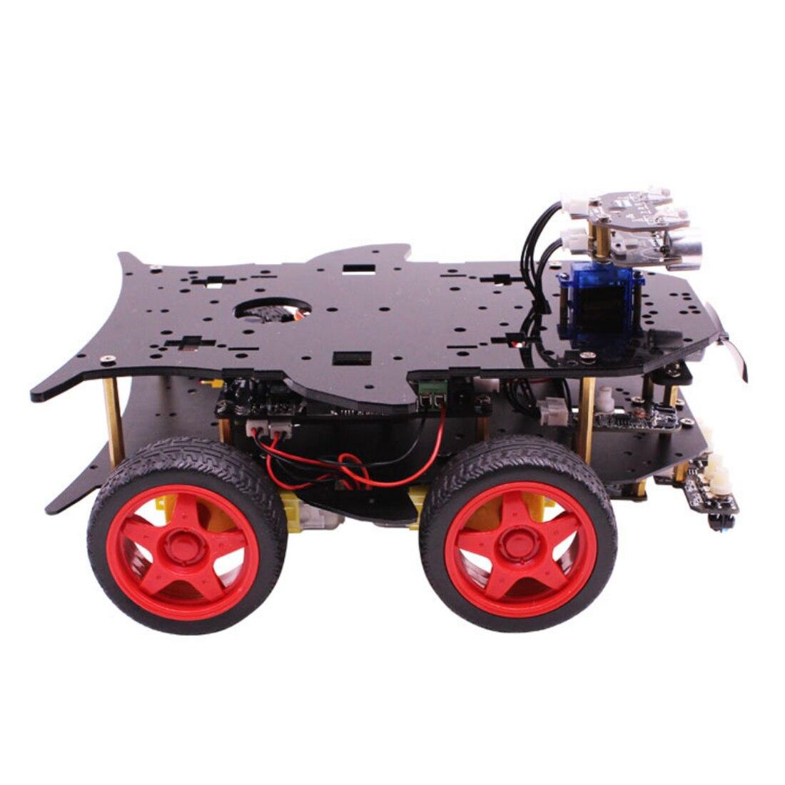 Roboter Auto 4WD Programmierung Stamm Bildung Robot Kit Spielzeug mit Tutorial & Open Source Code für Arduino (Einschließlich UNO r3 Mainboard) - 3
