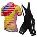 Sommer Radfahren Jersey Set Männer Kleidung Short Reit Fahrrad Radfahren Kleidung Anzüge Sport Trikots Angepasst/Großhandel Service|Fahrrad-Sets|   -