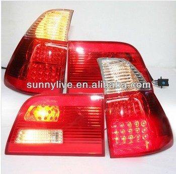 X5 E53 LED Tail Light Rear Lamp For BMW Red White Color 2000-2006 Year