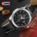 2016 Moda Relógios Homens Marca De Luxo Homens Pulseira de Couro Relógio de Quartzo Relogio masculino Masculino Relógio Militar Relógios Casuais