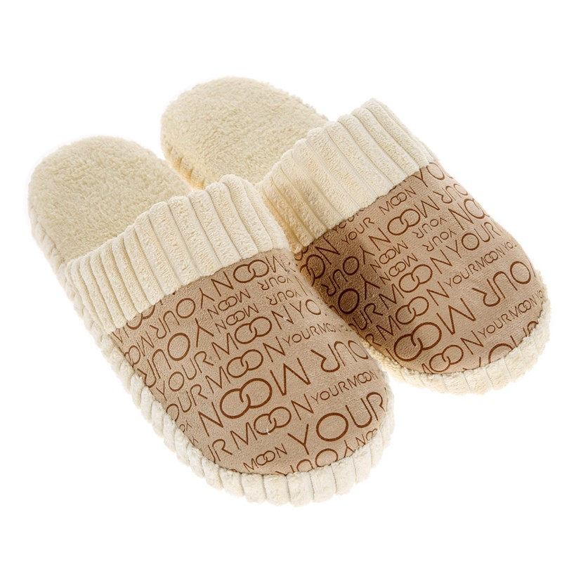 New 2018 Winter Men Slippers Warm Soft House Shoes Lovers Home Slippers Women Indoor Shoes Plush Unisex Slippers Pantufas women winter slippers shoes unisex indoor slippers home shoes for women corduroy short plush massage warm winter shoes