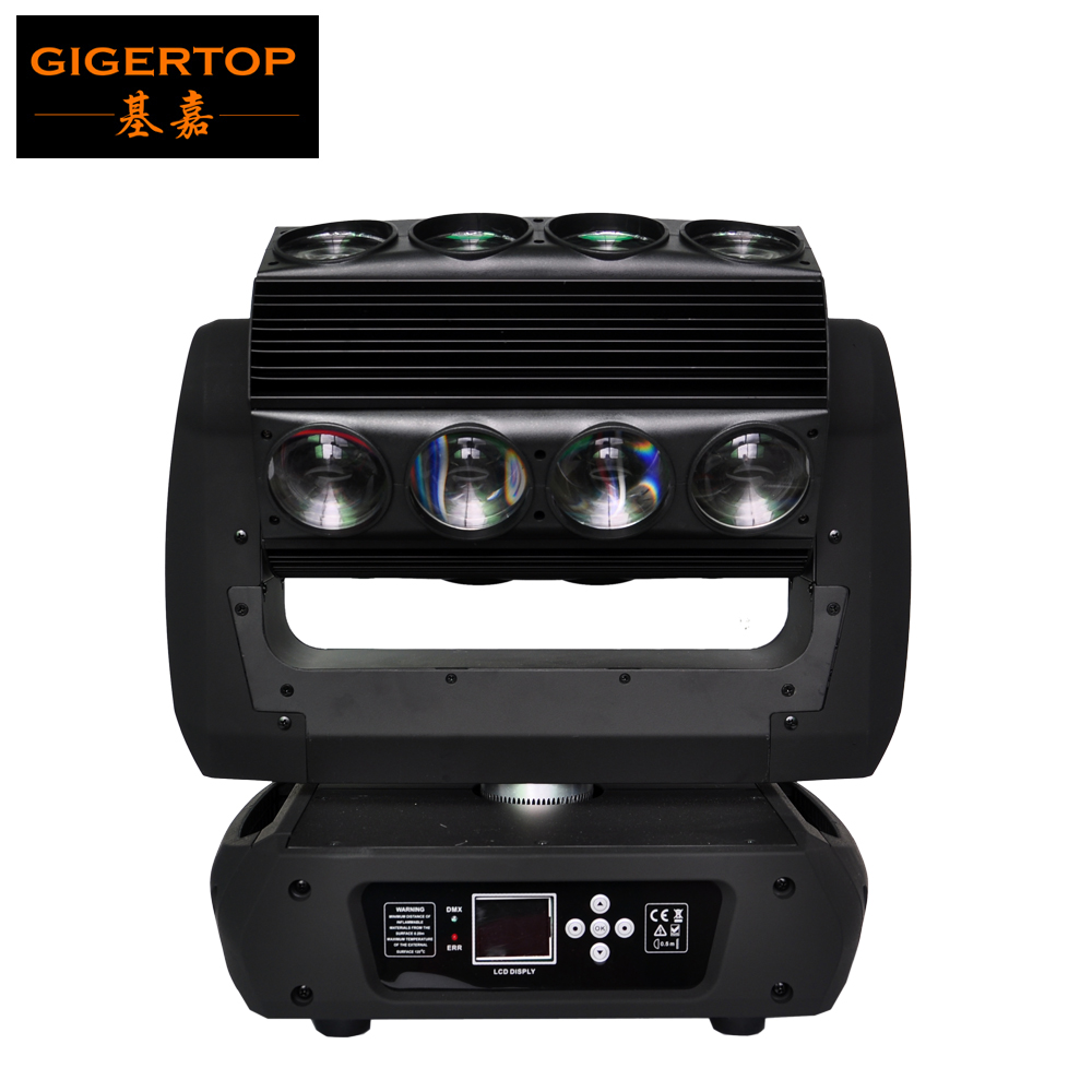 TIPTOP Stage Light TP L653 Mirage Led Moving Head Spider Light New 16x25W RGBW 4IN1 Ultimate Rotation Low Noise Linear Dimming