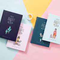 Ежедневник в коробке, милый цветной ковш для школы и офиса, A5, 2019