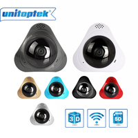 3D VR WIFI Camera 360 Degree Panoramic IP Camera 960P 1 3MP FIsheye WIreless Wi