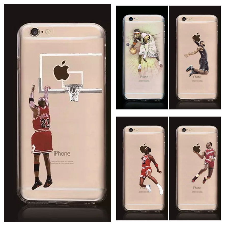 НБА телефон случае звезда НБА жесткий PC phone задняя крышка джеймс харден майкл jardan леброн джеймс телефон крышка коке для <font><b>iphone</b></font> 7 7 Плюс 5