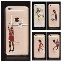 НБА телефон случае звезда НБА жесткий PC phone задняя крышка джеймс харден майкл jardan леброн джеймс телефон крышка коке для iphone 7 7 Plus 5