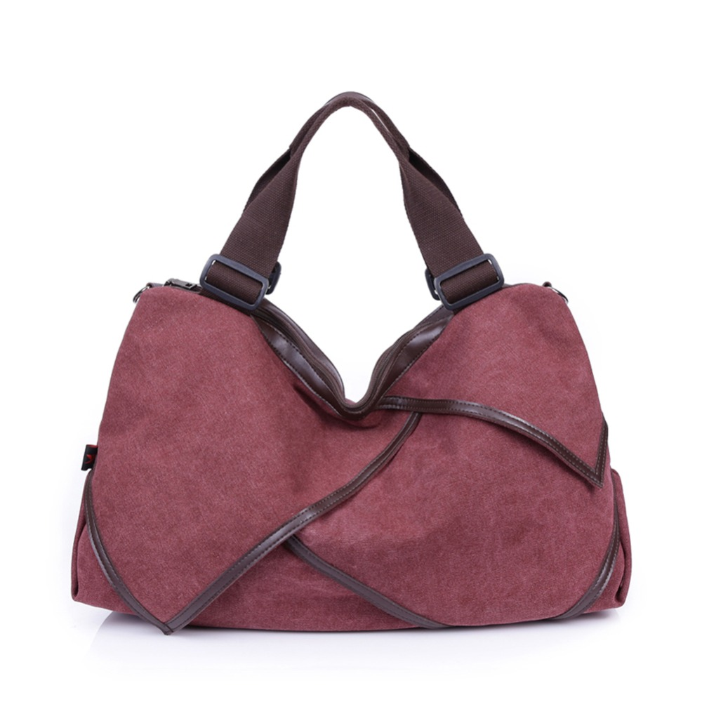 ZENTEII Women Retro Vintage Canvas Cross Body Shoulder Bag
