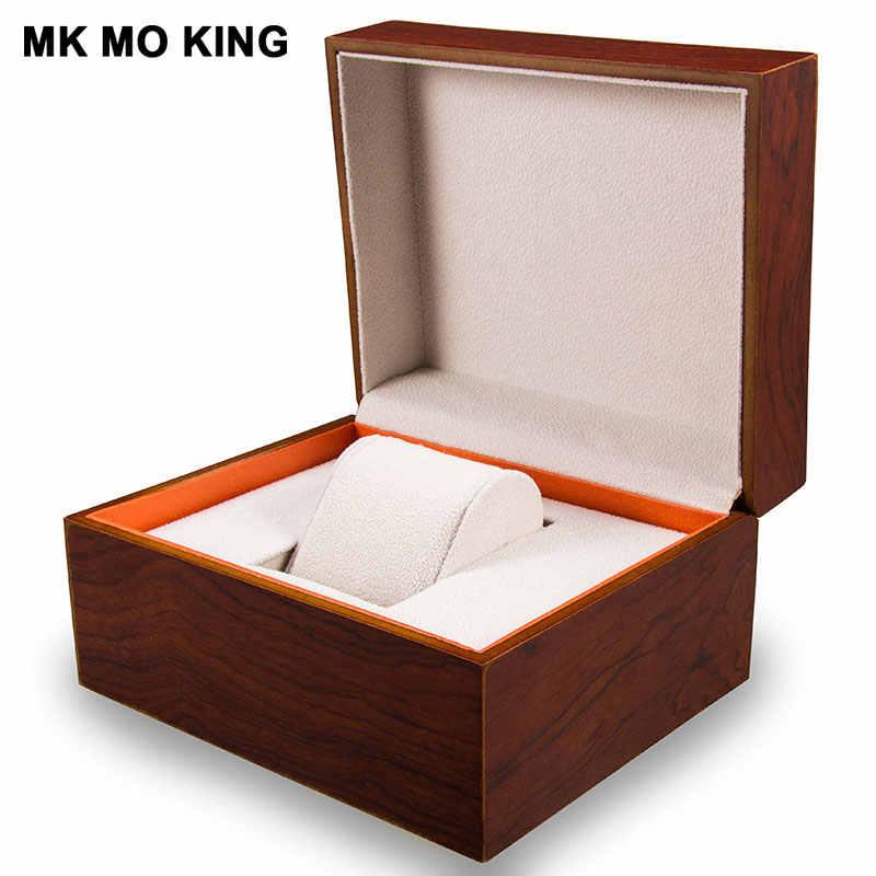 高級ブランドギフトボックス dw ためロレックスカルティエティソオメガロンジンパネライ IWC AP 男性の女性の腕時計ブレスレット木製ケースボックス
