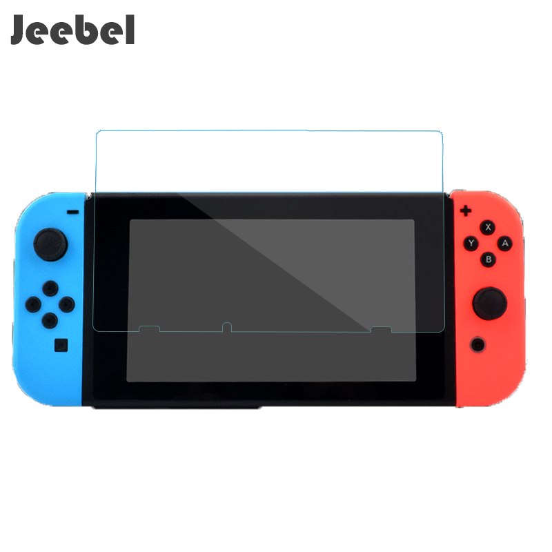 Jeebel 9h Tempered Film Glass Screen Protector Eye Protection For Nintend Switch Screen Protector Nintend Switch Accessories Screen Protectors