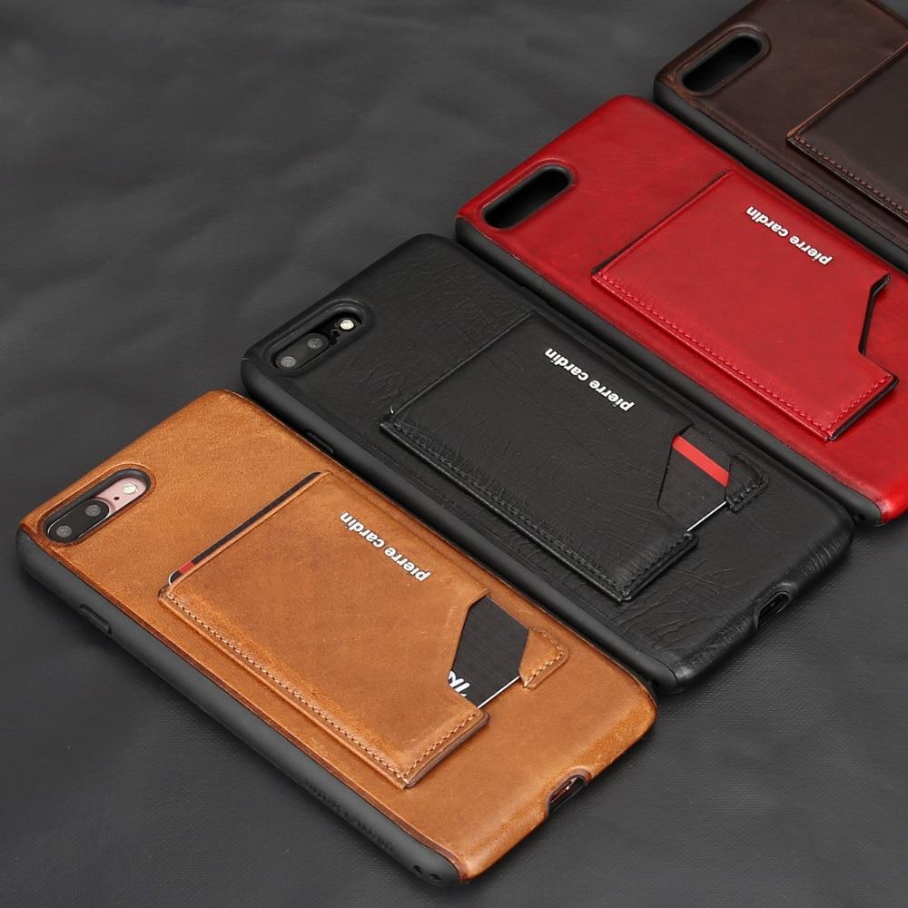 Para Apple iPhone 7 7 Plus Estuche para teléfono Pierre Cardin - Accesorios y repuestos para celulares - foto 1