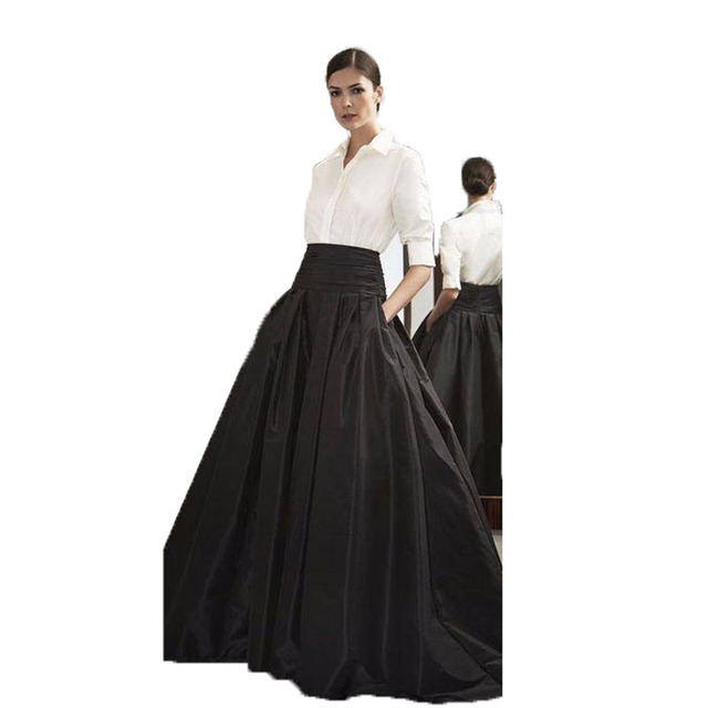 Aliexpress.com : Buy 2017 Formal Long Skirt for Office Ladies ...