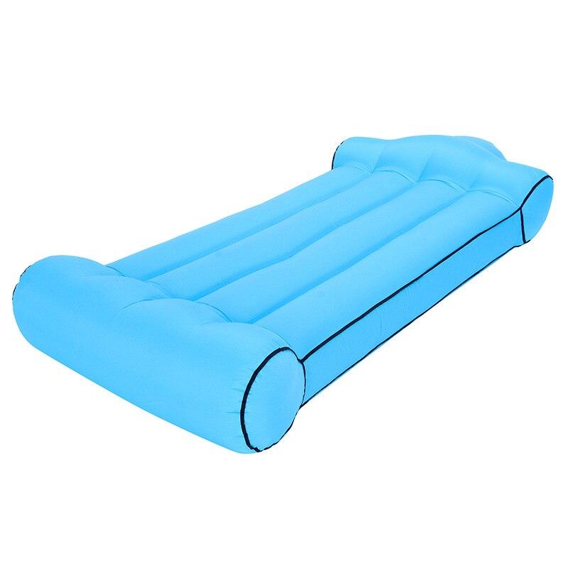 Sac de compréhension de hamac de sac de couchage gonflable en Nylon léger/simple d'entrée d'air/bouche pour le Camping - 6