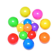 Eco-Friendly Colorful Soft Plastic Water Pool Ocean Wave Ball Baby Funny Toys Stress Air Ball Outdoor Fun Sports(China)