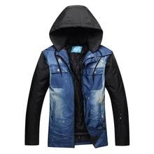 цена на 2019 RIVIYELE Ski Jacket Men Waterproof Snow Jacket Thermal Coat For Outdoor Mountain Skiing Snowboard Jacket Plus Size