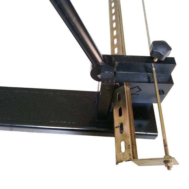 Coupeur multifonctionnel de rail de din, outil de coupe de rail de din, coupe facile avec des couteaux de couteau de mesure