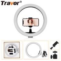 Travor 30cm/12 160pcs Dimmable LED Ring Light 12W 2700K 5500K CRI90 Photography Photo Studio Lamp