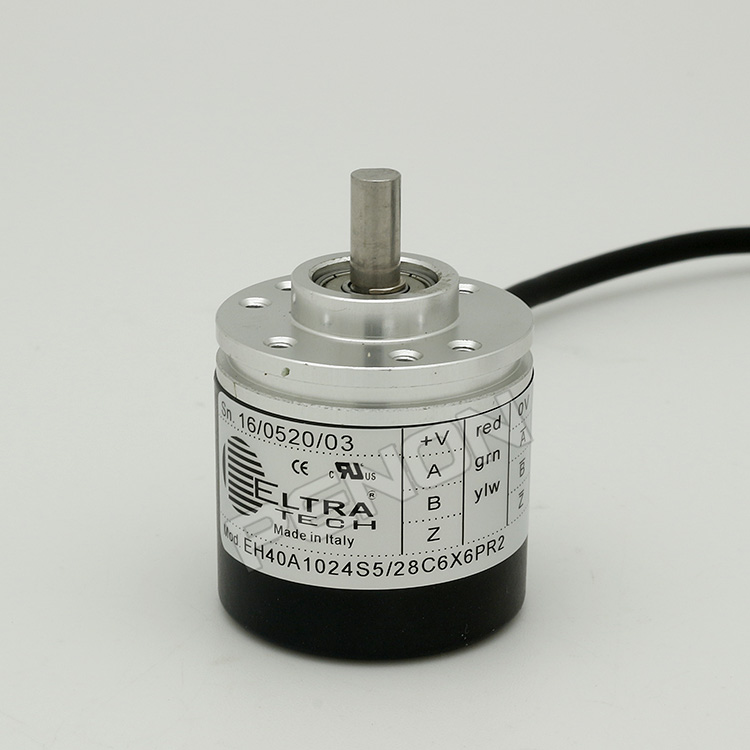 New EH40A1024S5 / 28C6X6PR2 eltra rotary encoder shaft diameter 6mm solid shaft