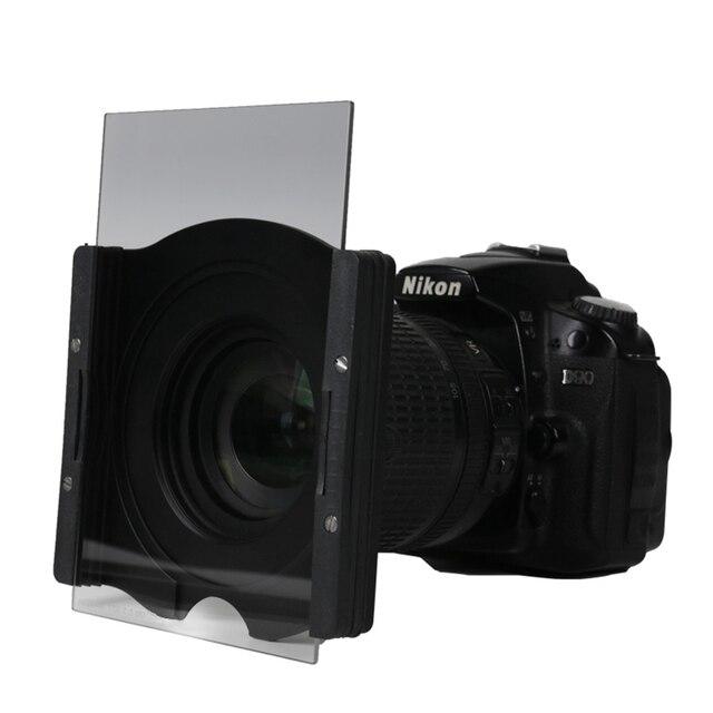 Filtro quadrado graduado macio do nd do filtro g. nd4 nd8 nd16 da câmera para zoei cokin z da maneira de passeio 150*100mm de vidro óptico
