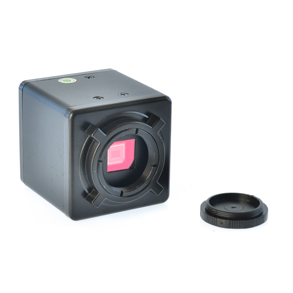 2.0MP HD numérique c-mount Microscope caméra loupe PC sortie VGA pour l'inspection industrielle de l'industrie de laboratoire PCB