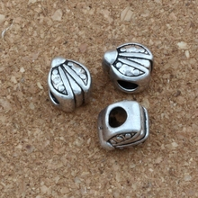 20pcs /lots Antique Silver ladybug Alloy Big Hole Bead Fit European Beads Bracelet DIY Jewelry 9x11x9mm