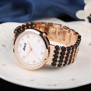 black tourmaline beads bracele