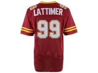Steve Lattimer Jersey The Program Movie Jersey #99 American Football Jersey Red All stitched
