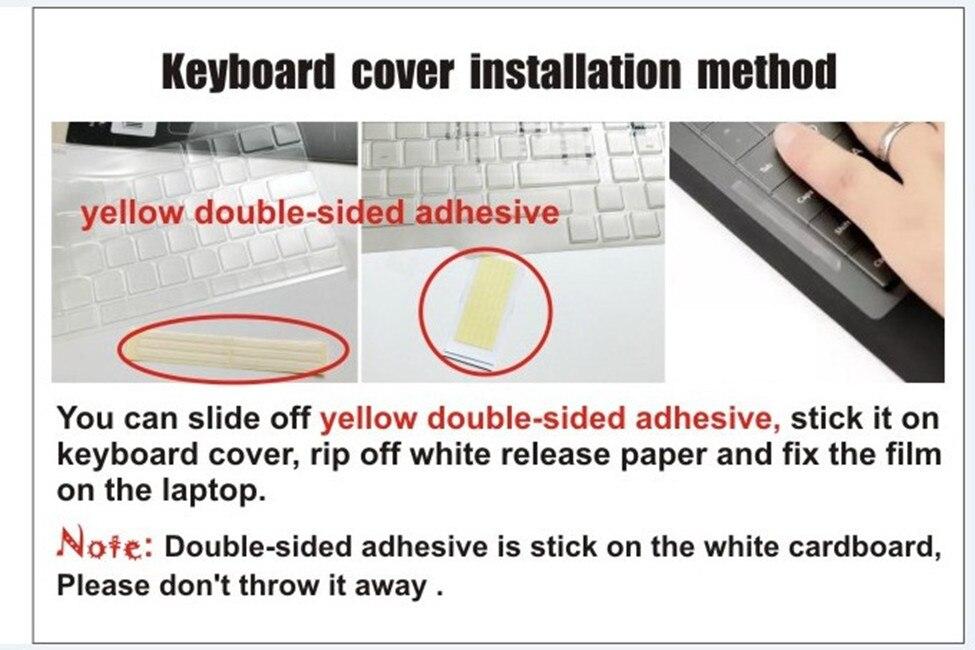 Cubierta del teclado del ordenador portátil Clear Tpu para MSI WT72 - Accesorios para laptop - foto 5