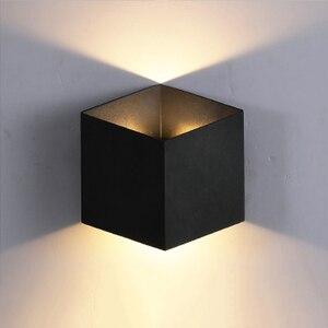 Image 3 - Brief LED  waterproof indoor wall light modern aluminum wall lamp sconce outdoor stair bathroom garden porch bedroom mirror lamp