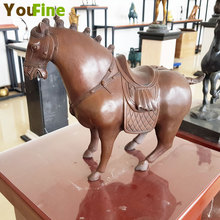 Hot Designs bronze horse Tang sculpture Art Decoration Sculpture Bronze horse Statue ag0003 argentina 2012 leo gallegos municipal committee statue horse stamp 1 new 1120