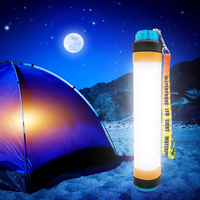 Portable LED Camping Mosquito Lamp Tent Lights Outdoor Travel Emergency Flashlight Mobile Power USB Rechargeable 2018 Original