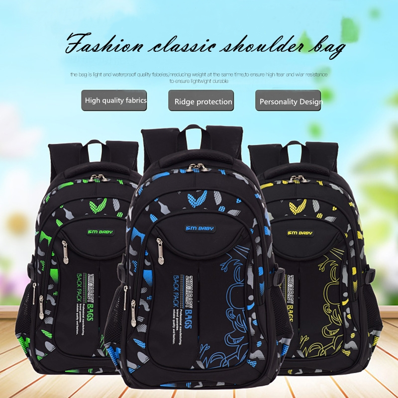 Hot Fashion Children School Bags For Girls Boys Backpack In Primary Backpacks Orthopedic Backpac