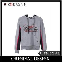KODASKIN Men Cotton Round Neck Casual Printing Sweater Sweatershirt Hoodies for Hypermotard 1100