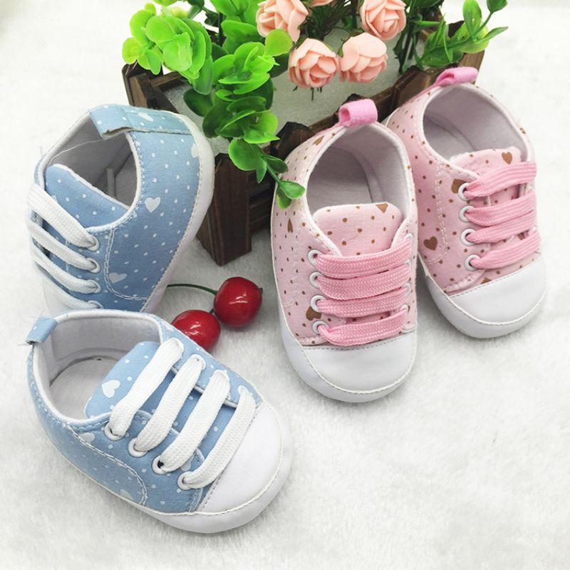 Toddler Shoes Leisure Anti-slip Sneakers Retail Original Brand Baby Girl First Walkers