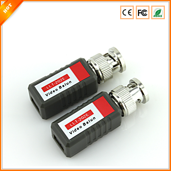 MD42 CCTV Camera Passive Video Balun BNC Twisted Pair Connector Cable Lot