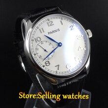 Мужские часы PARNIS 44 мм с ручным намоткой, часы с морским чайком st3600