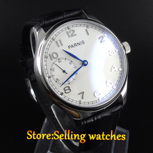 PARNIS 44mm hand winding Mens watch sea gull st3600  movement
