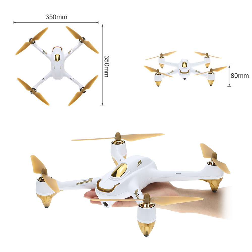 Hubsan H501S Pro X4 5.8G FPV Selfie Drone Brushless RC Drone with Camera 1080P 10 Channel Remote Control GPS RC Quadcopter (23)
